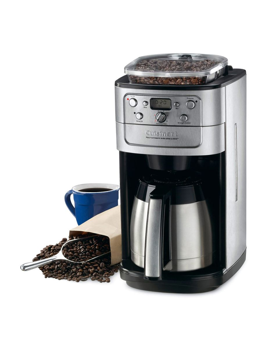 Cuisinart 12cup grind and brew coffee maker cuisinart