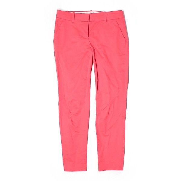 Pre-owned J. Crew Dress Pants Size 00: Pink Women's Pants ($27 ...