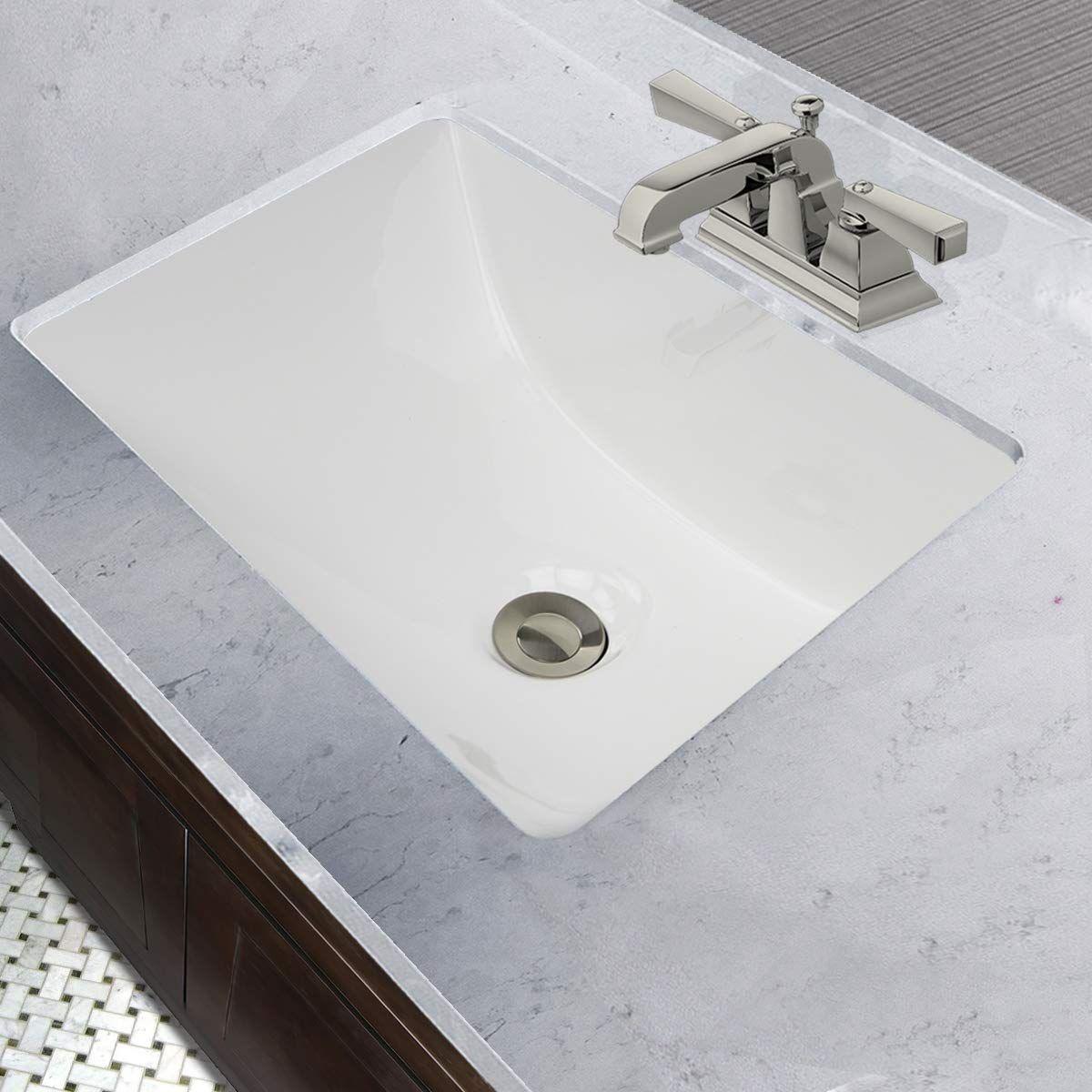 Nantucket Sinks Um 16x11 W 16 Inch By 11 Inch Rectangle Ceramic