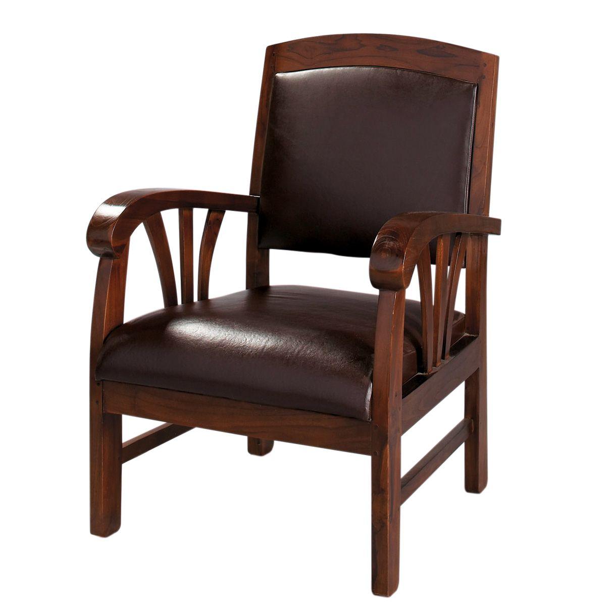 fauteuil en cuir marron singapour fauteuils en cuir et fauteuils. Black Bedroom Furniture Sets. Home Design Ideas