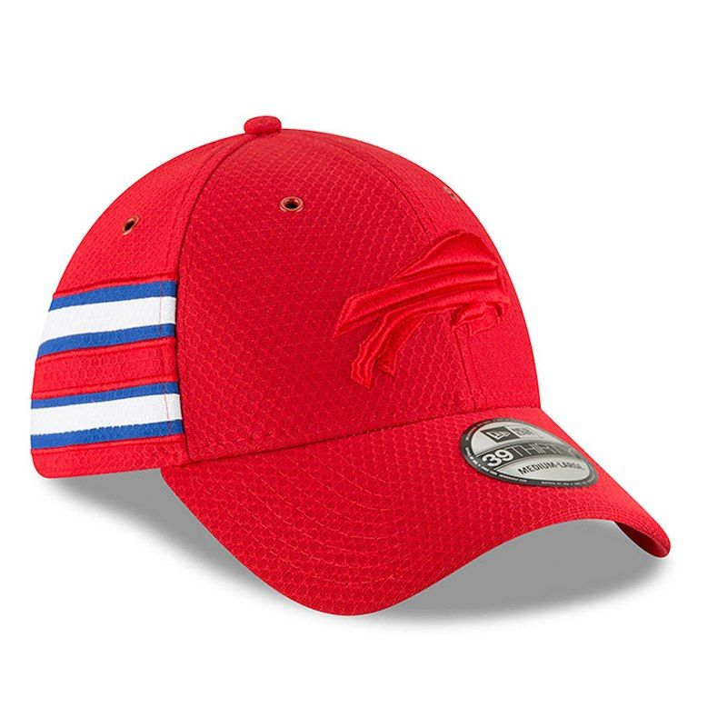 Buffalo Bills New Era 2018 NFL Sideline Color Rush Official 39THIRTY Flex  Hat – Red 593400f4fb2b