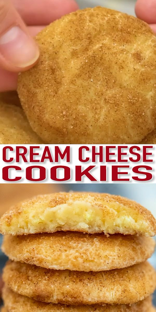 Cinnamon Cream Cheese Cookies - Sweet and Savory Meals