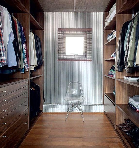 Inspiração - closet masculino