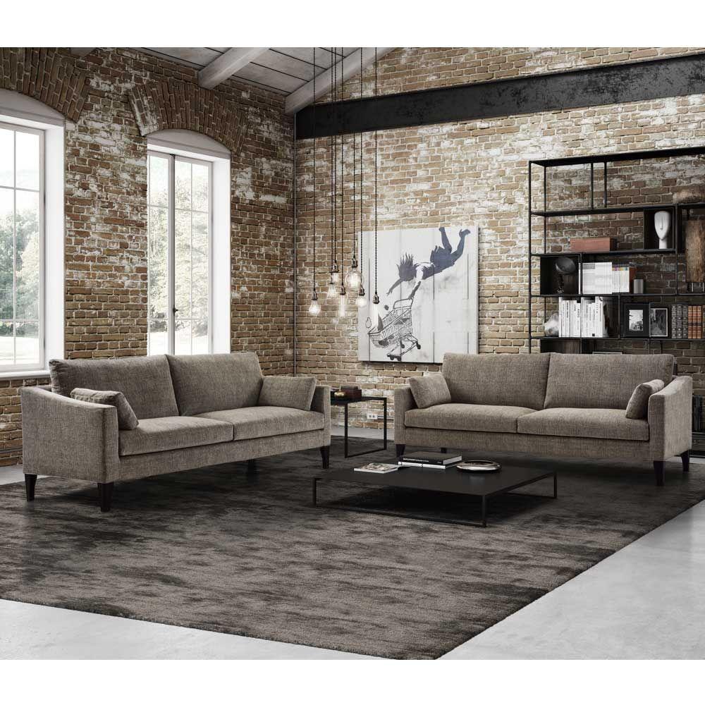 Sofa Michael 3 Sitzer Taupe In 2020 Sofa Design Sofa Und Designer Couch