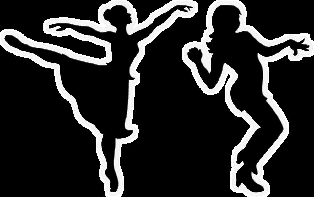 Ballet Dancer Free dance Silhouette Clip art BABY SHARK