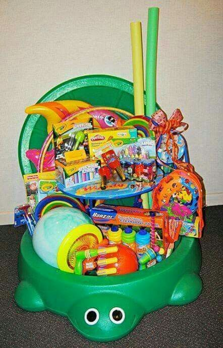 Easter basket for babies easter ideas pinterest easter baskets easter basket for babies negle Images