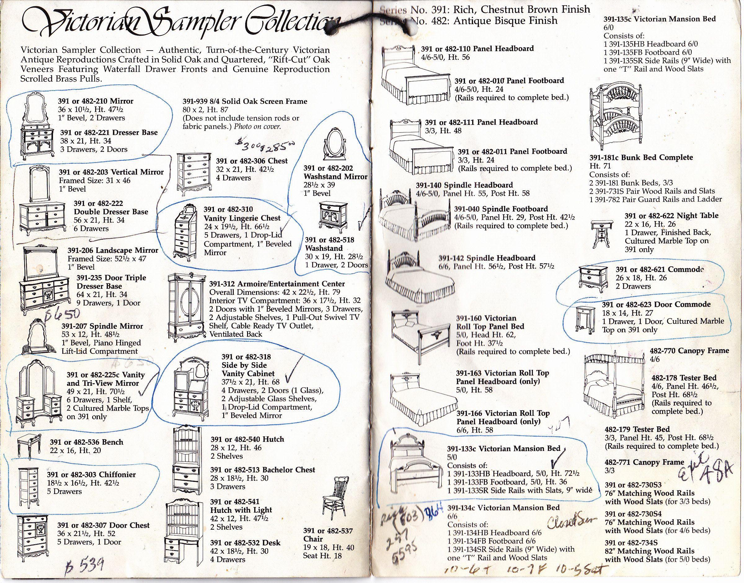 Lexington Victorian Sampler Collection