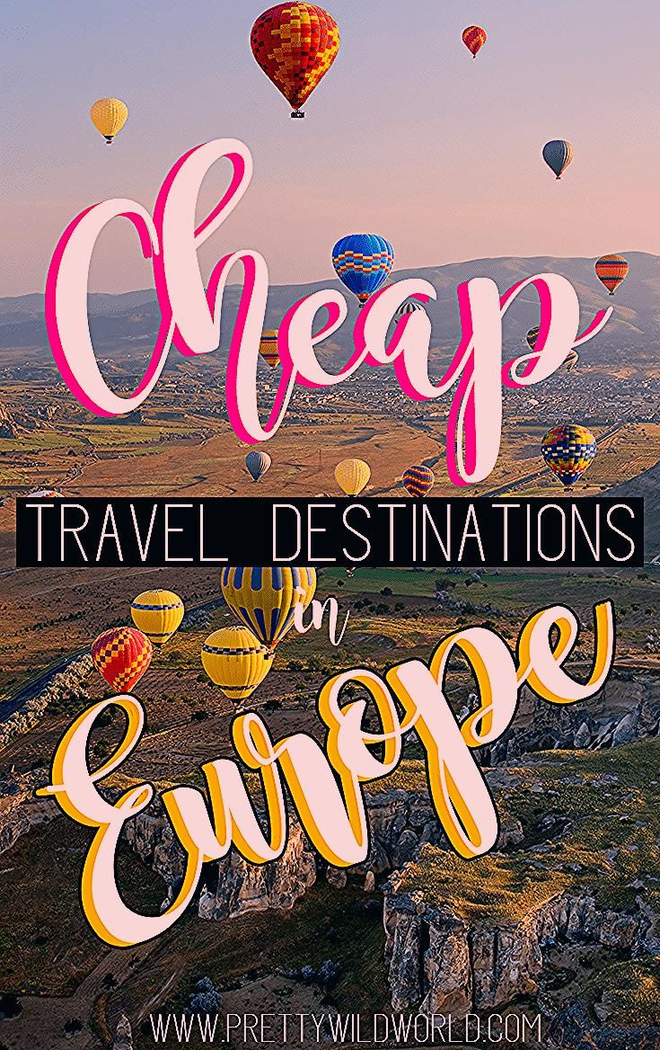 Photo of Top 20 BEST Cheapest Countries in Europe to Visit for 2020