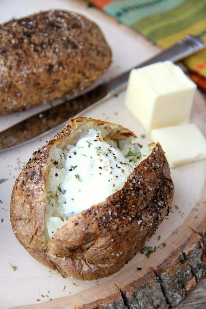 Easy Air Fryer Baked Potatoes Recipe Air fryer recipes