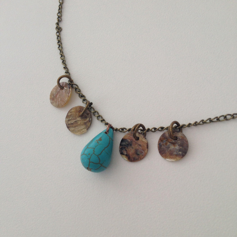 Handmade, folk jewelry, hippie chic, bohemian