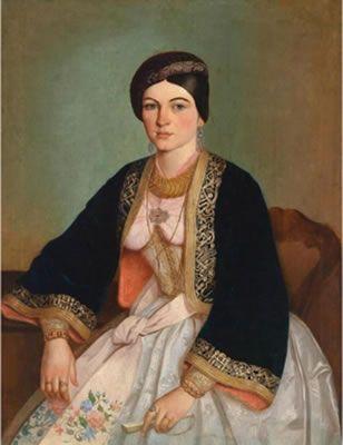 Katarina Ivanović - Persida Karađorđević  in a very nice Libade  (Pharyah)
