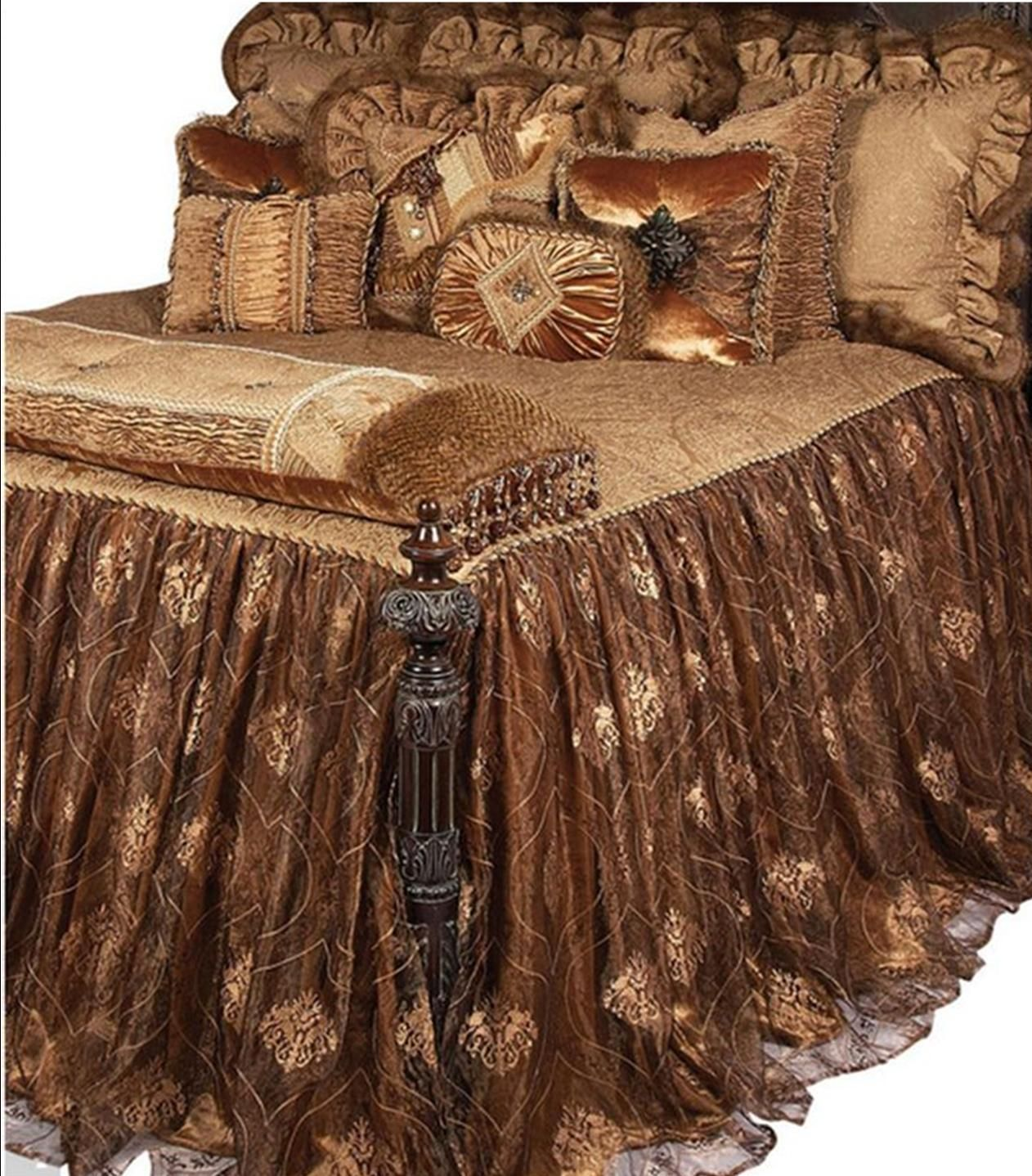 Luxury Old World High End Bedding By Reilly Chance Collection Now Available Directly To You The Home Ow Bed Linens Luxury Luxury Bedding Luxury Bedspreads