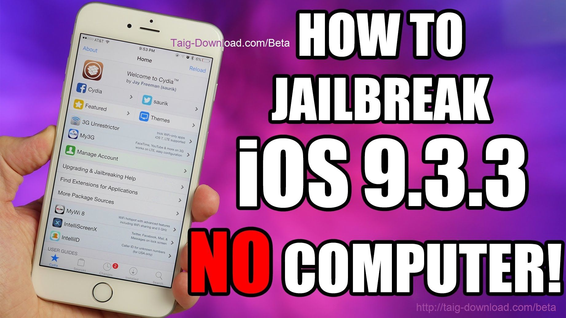 Now you can Jailbreak iOS 9.3.3 without computer. Normally you have