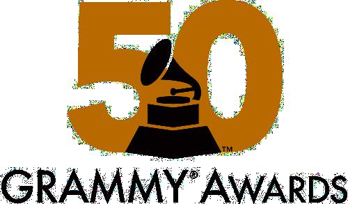 50th Grammy Awards Logo Grammy Awards Grammy Awards