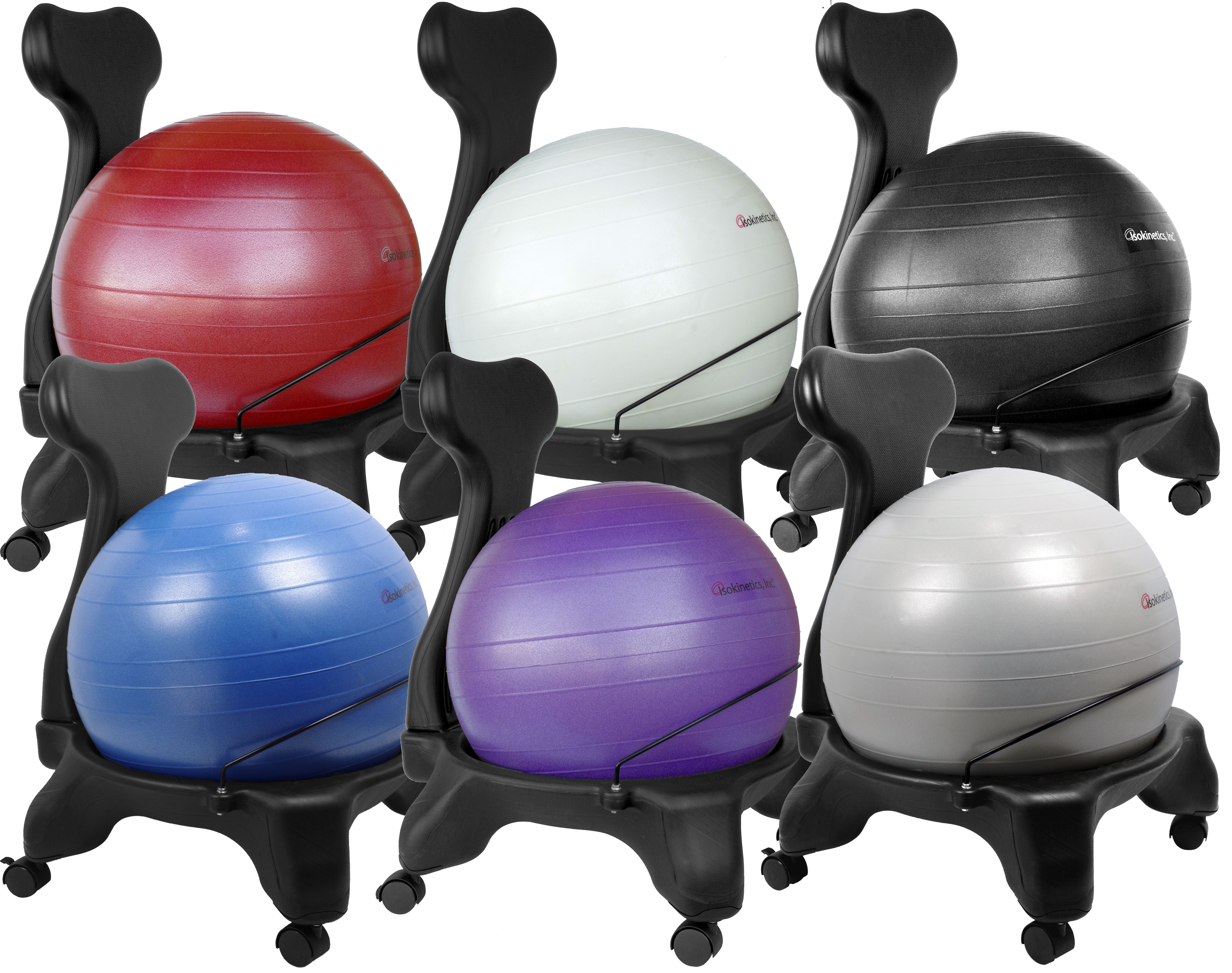 Inc.™ Balance/Exercise Ball Chair Exclusive