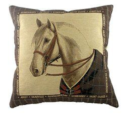 21 Awesome Throw Pillows & Covers for the #Horse Lover  - #scequine
