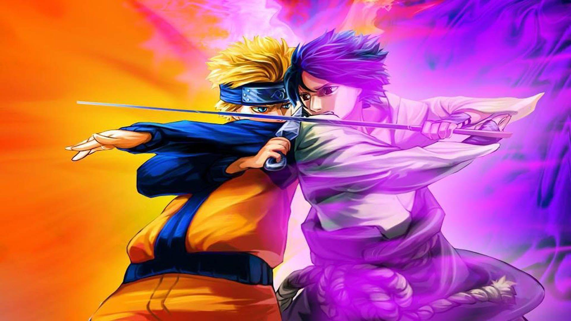 Naruto Vs Sasuke Wallpaper Desktop Monodomo Naruto Vs Sasuke Anime Naruto And Sasuke Wallpaper