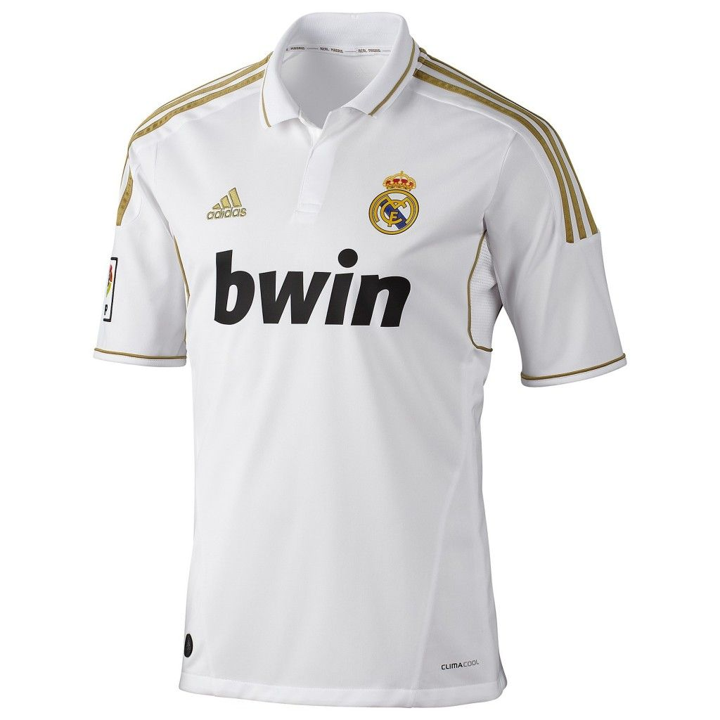 68d5b7a94 Men s Real Madrid Home Soccer Jersey – White Gold