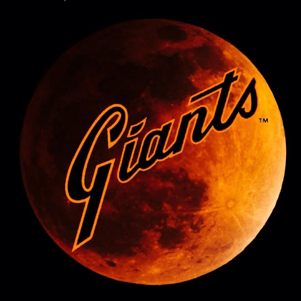 even the moon loves the giants everything san francisco pinterest. Black Bedroom Furniture Sets. Home Design Ideas