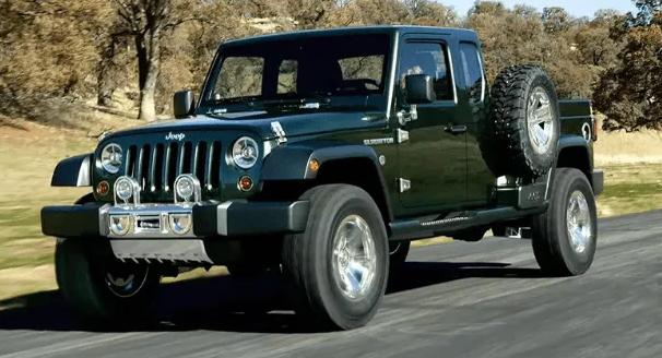 2021 Jeep Wrangler Pickup Truck Hybrid Jeep Wrangler Pickup
