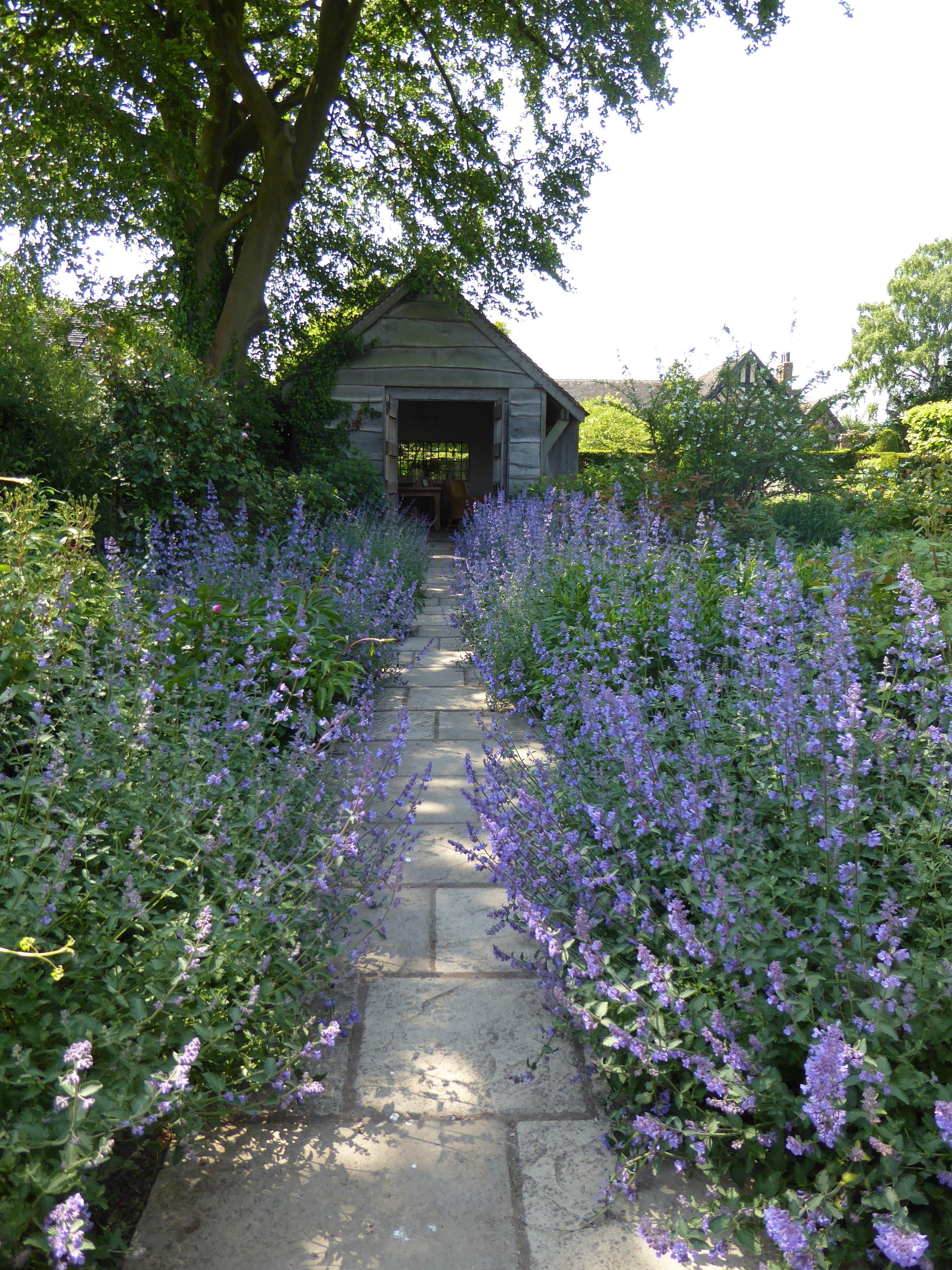 10 Garden Ideas To Steal From Wollerton Old Hall In Shropshire Outdoor Gardens Wildflower Garden Garden Paths