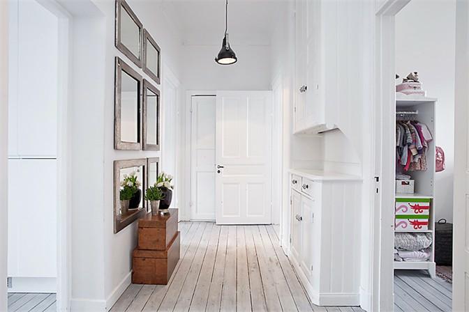 Cozy Apartment In White Black And Grey Uyuten Apartament V Byalo Cherno I Sivo 79 Ideas Apartment Interior Design Apartment Interior My Ideal Home