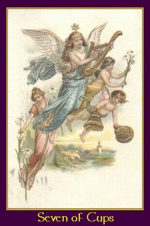 Nombre (Deck) :A Heavenly Host Tarot .- País (Country): U.K .- Publisher :Pen & Sword, Ltd .- Fecha (Date) : 2006, Artist: Marvin Lawson,
