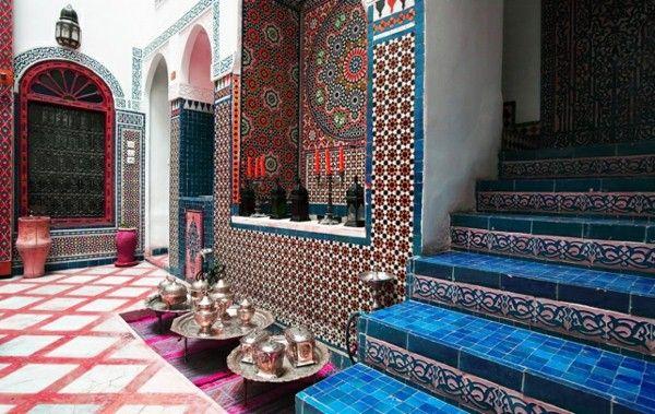 Interior Design Tiles With Moroccan