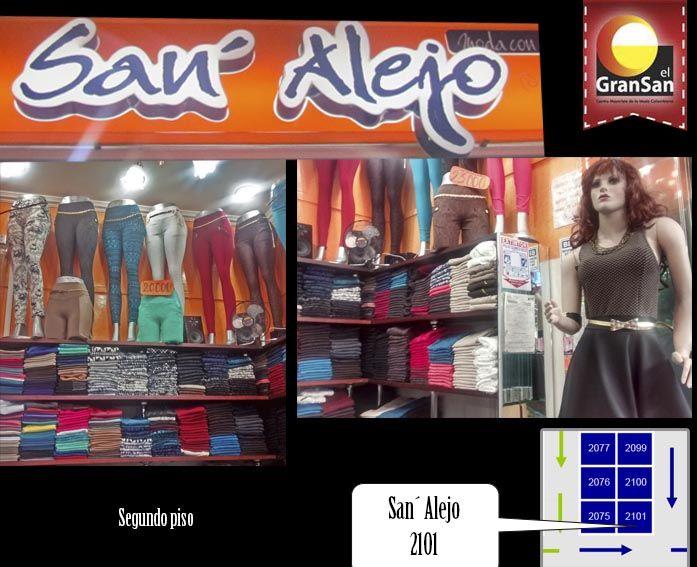 #MarcadelDía: Creaciones San´ Alejo. Moda con estilo, lo mejor en leggins, gran variedad de colores y estilos. 100% fabricantes colombianos, ventas por mayor y al detal. Te esperamos. #ColombianoCompraColombiano. #SoyCapaz de creer en mi país!