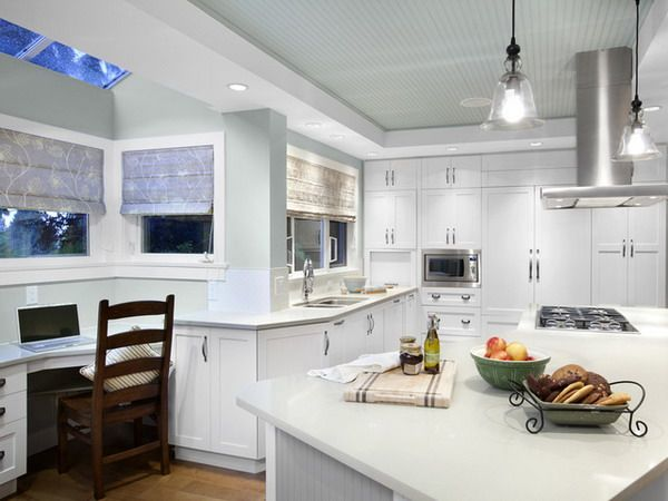Modern Kitchen Renovation Ideas With Grey Beadboard Ceiling Design Kitchen Renovation In Economical Way Interesting