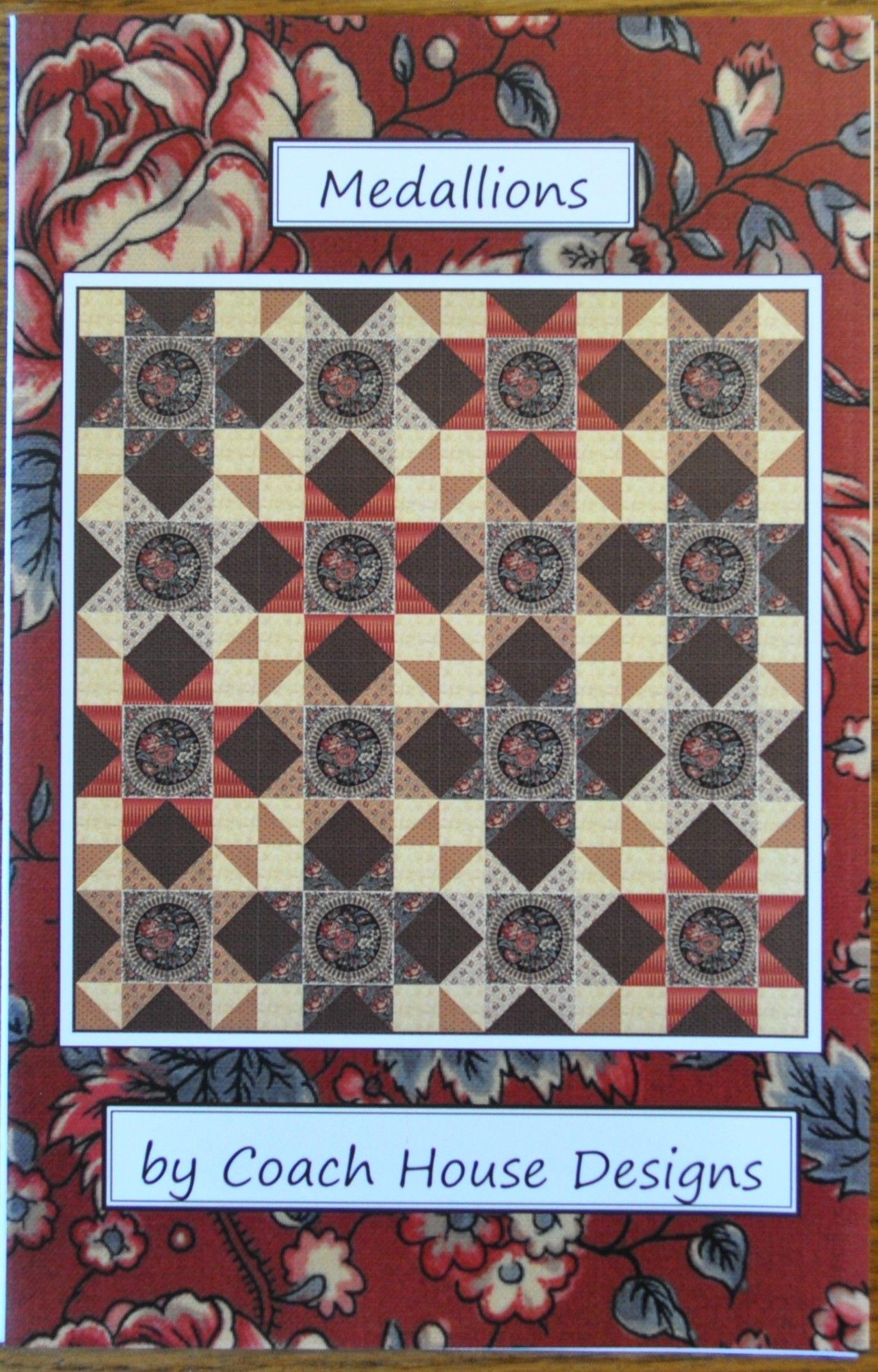 Coach House Designs quilt pattern by Barbara Cherniwchan ...