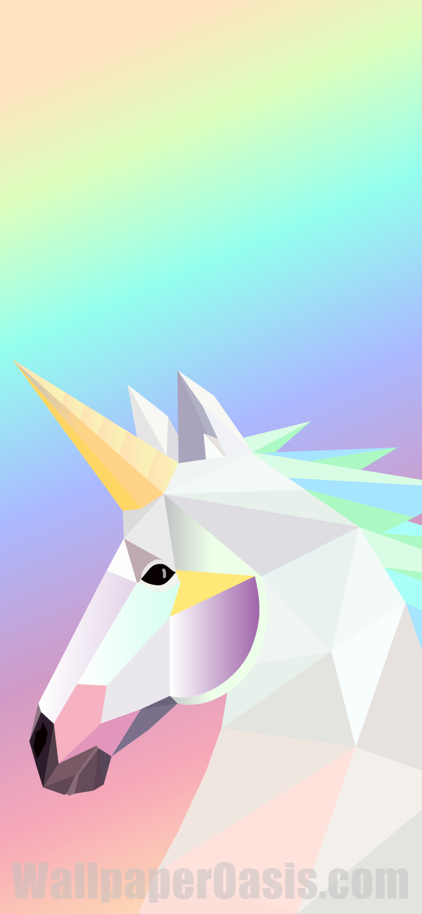 Free Geometric Unicorn Iphone Wallpaper This Design Is Available For Iphone 5 Through Iphone X Ge Iphone Wallpaper Unicorn Unicorn Wallpaper Iphone Wallpaper