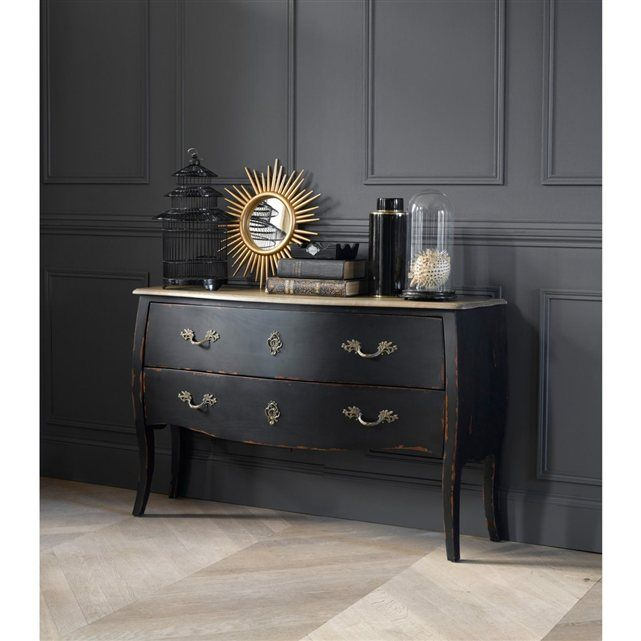commode 2 tiroirs lipstick la redoute commodes et tiroir. Black Bedroom Furniture Sets. Home Design Ideas
