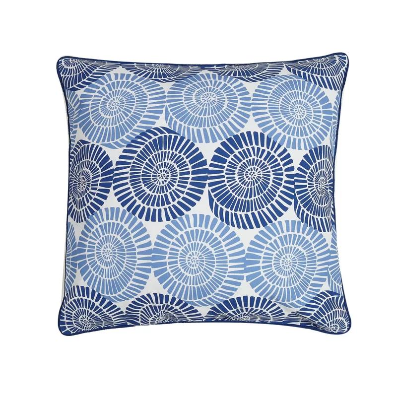 Elnora Spiral Cotton Throw Pillow Throw Pillows Cotton Throw Pillow Throw Pillow Styling