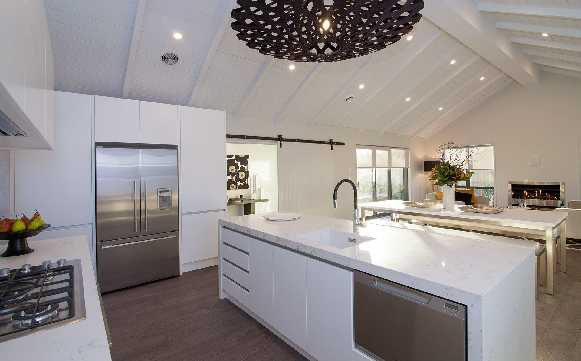 Looking out from the kitchen | Beachlands | G.J. Gardner Homes New ...
