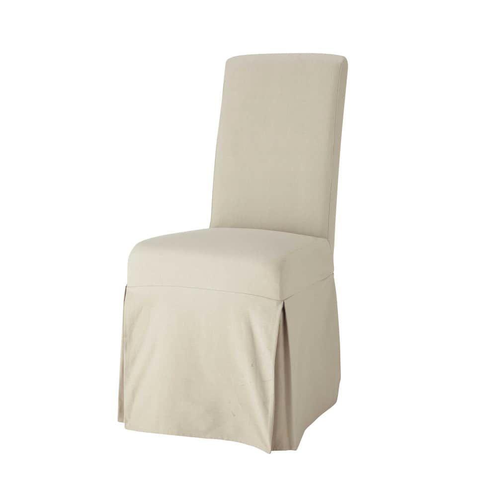 En Housse Longue Chaise MasticProducts De Coton n8OkwZN0PX