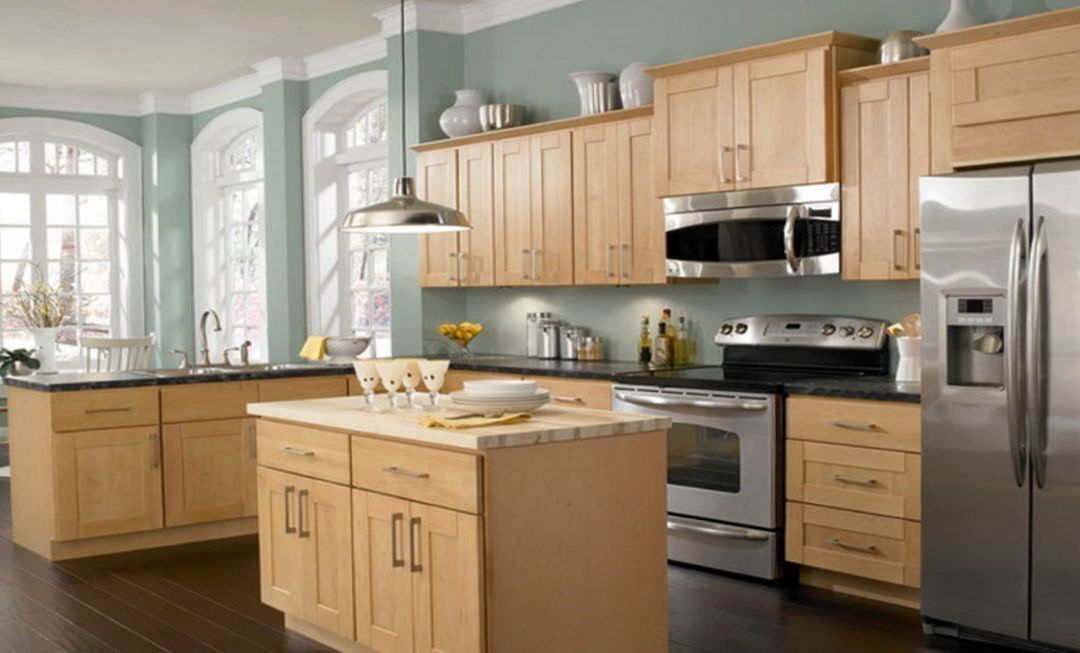 Kitchen Paint Colors With Oak Cabinets Most Popular