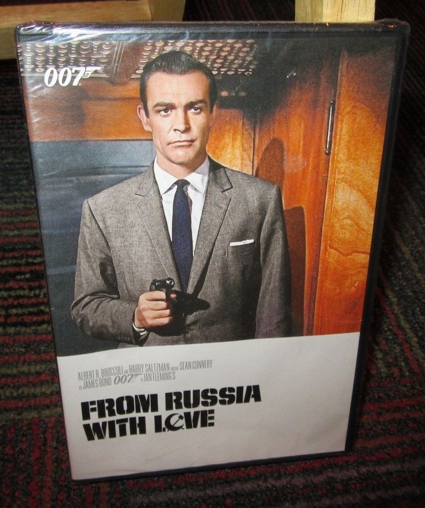 Details About 007 From Russia With Love Dvd Movie Sean Connery