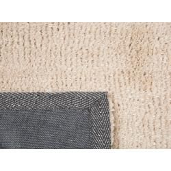 Photo of Teppich hellbeige 200 x 300 cm Shaggy Demre Beliani