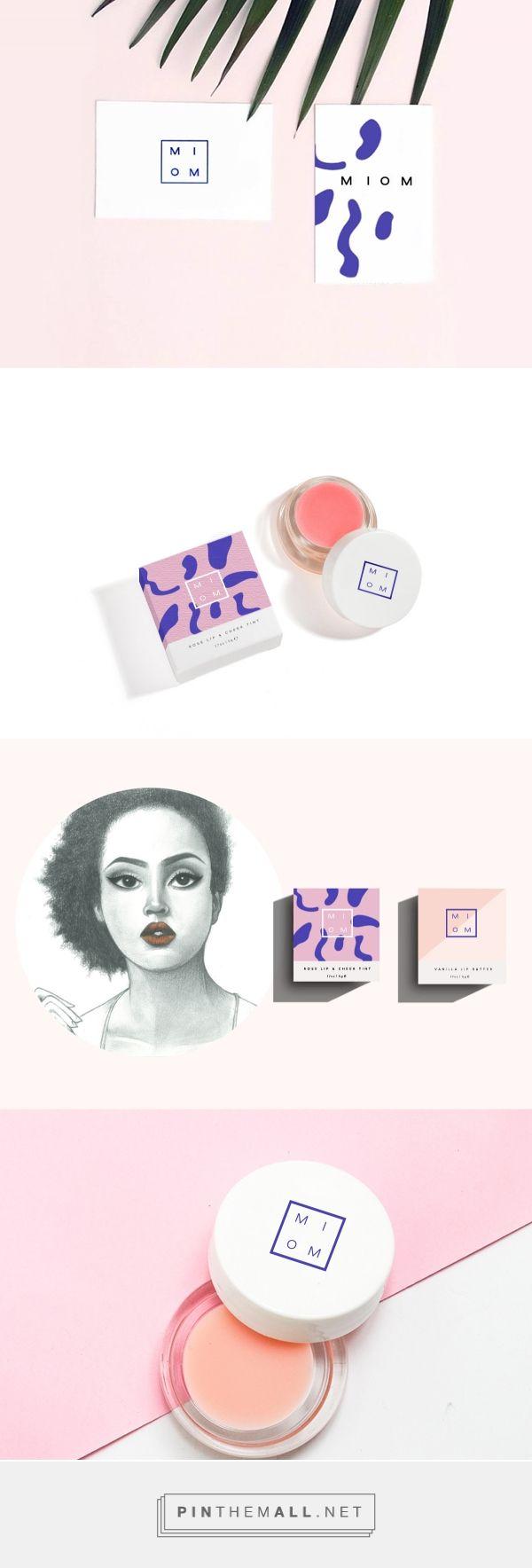 Miom Handmade Cosmetics Branding and Packaging by Gaby Altamirano | Fivestar Branding – Design and Branding Agency & Inspiration Gallery