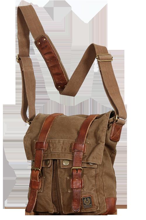 4c2a7c32a8 Belstaff Canvasbag Large Man Bag, mountain brown | Dream Wardrobe ...