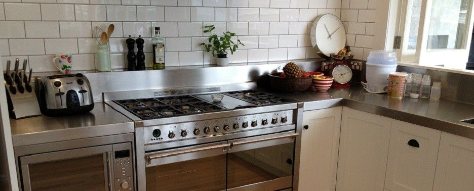 Superbe Image Result For Home Kitchens Stainless Steel Benches