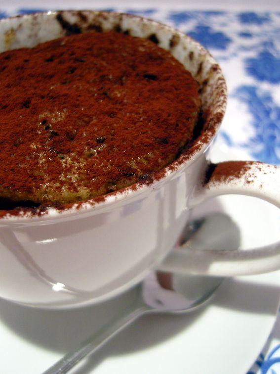 Ninas kleiner Food-Blog: Microwellen-Tassenkuchen - Kaffee & Spekulatius