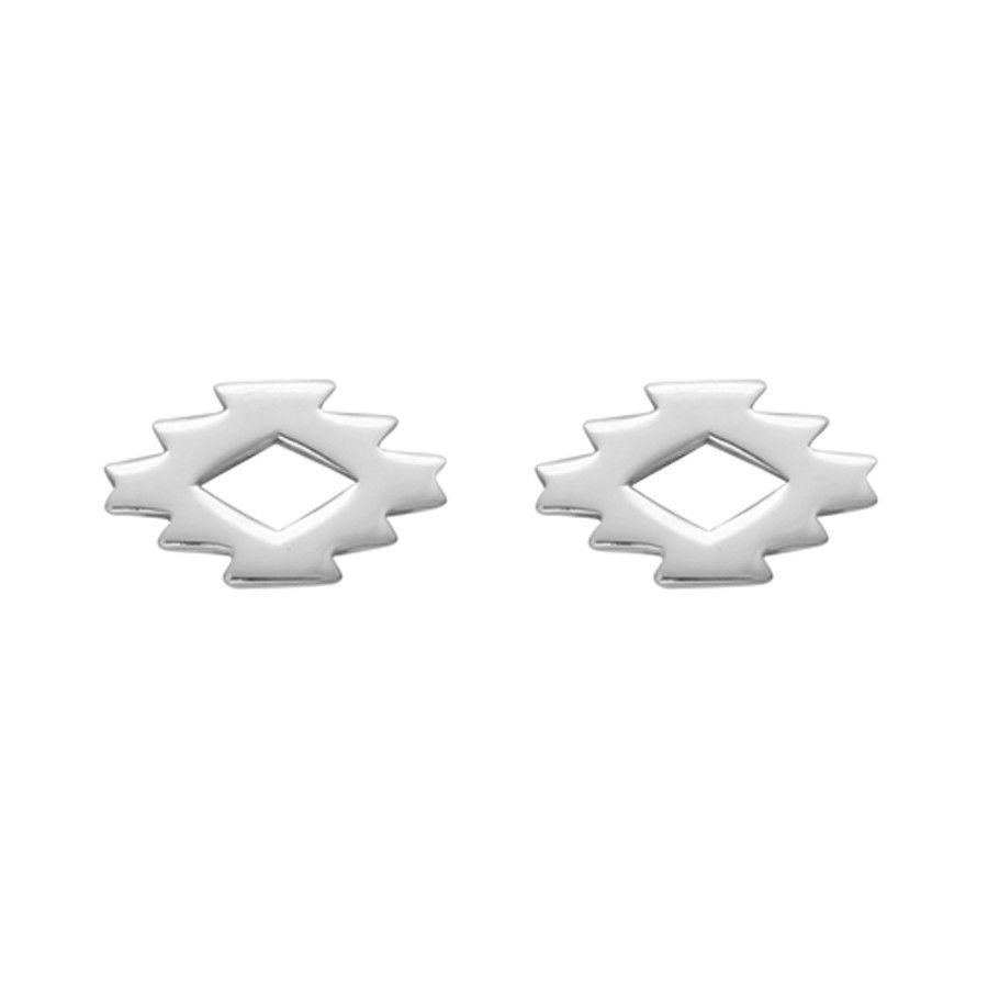 Aztec Pattern Earrings