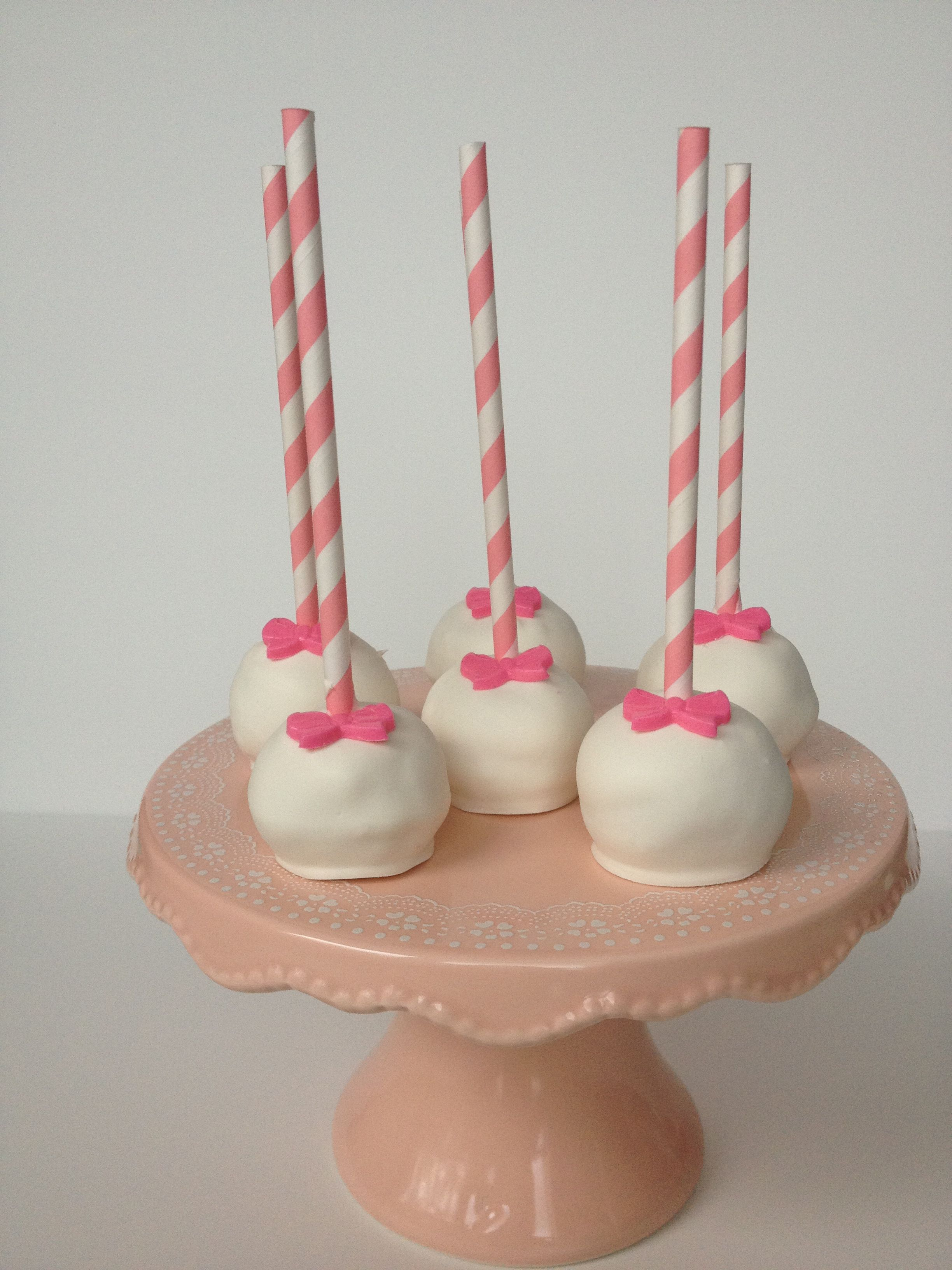 Cakepops Cute For A Little Girl Birthday Party