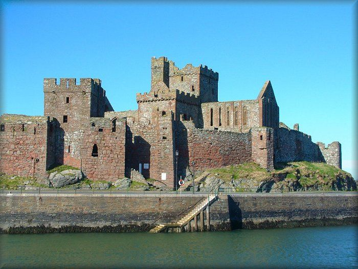 Image result for peel castle isle of man