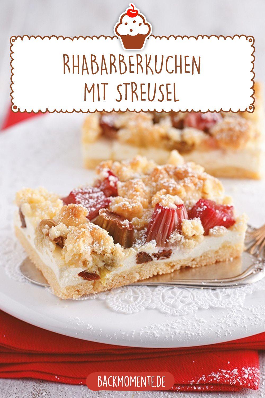 Photo of Rhabarberkuchen mit Streusel