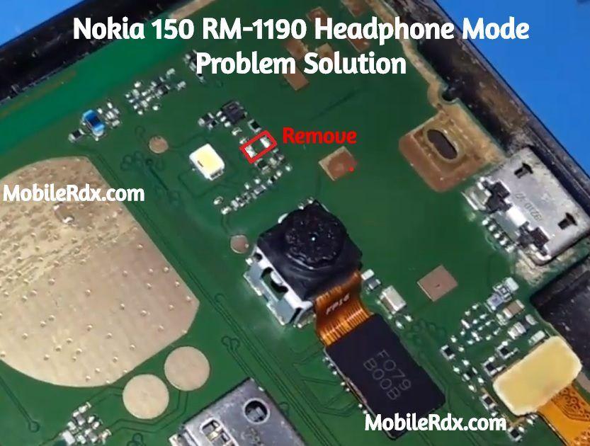 Nokia 150 Rm 1190 Headphone Mode Problem Handfree Icon Solution Nokia Phone Nokia Mobile Tricks