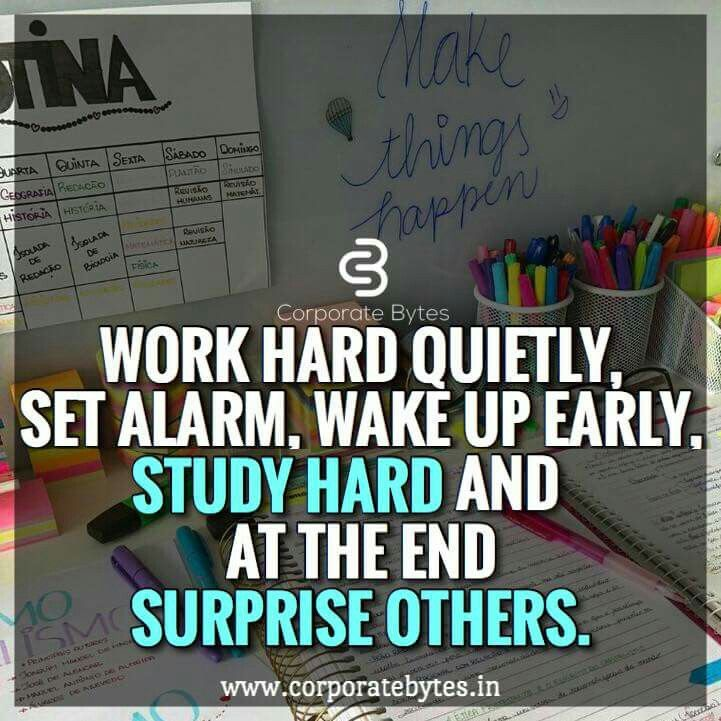 inspired hardworkpaysoff // follow us motivation2study
