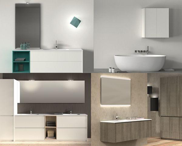 muebles para baño en barcelona de Mapini | Mobiliario de baño ...